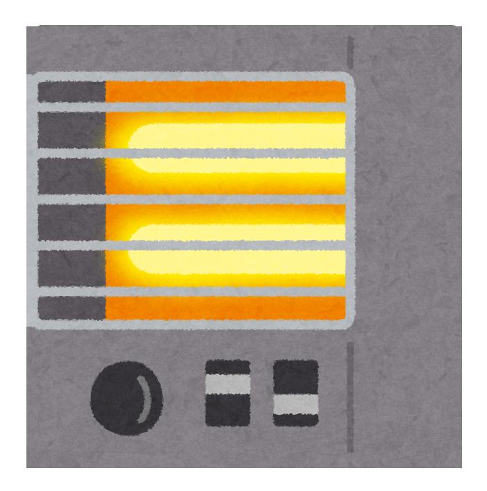 電気暖房がセカンド暖房としてオススメな理由